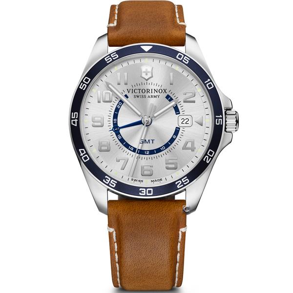 Victorinox 瑞士維氏 FieldForce系列 異地穿梭者 兩地時間腕錶 VISA-241931