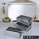 不銹鋼刀架廚房帶蓋刀箱廚房置物架有蓋刀箱大刀座菜刀盒 -好家驛站