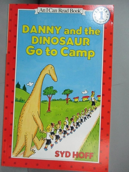 【書寶二手書T1/少年童書_NDZ】Danny and the Dinosaur Go to Camp_Hoff, Syd
