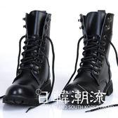 馬丁鞋  男靴英倫韓版馬丁靴男士真皮軍靴冬季皮靴子男潮鞋高幫機車靴