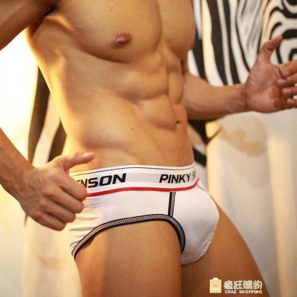 一件85折-性感三角內褲 紳士潮男內衣 低腰時尚囊袋激凸誘惑經典款黑白色系