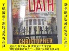 二手書博民逛書店英文原版罕見Blood Oath by Christopher