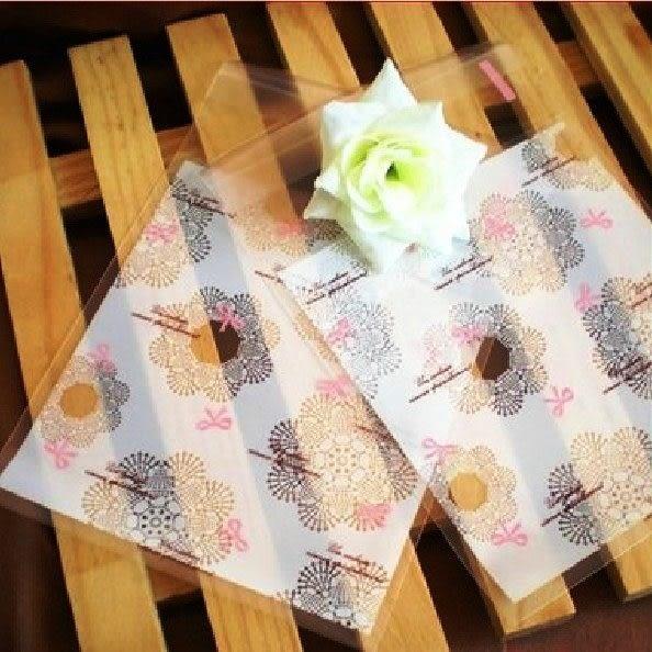 95入 蕾絲蝴蝶結 自黏袋 塑膠袋 包裝袋