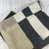 BRAND楓月 HERMES 愛馬仕 H103295 米白咖啡色 H毛毯 保暖毯 被子 被單 毯子 家居家飾