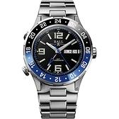 BALL 波爾錶 Roadmaster Marine GMT 瑞士天文台機械錶 (DG3030B-S1CJ-BK)黑/40mm