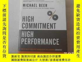 二手書博民逛書店High罕見Commitment, High Performance【精裝、16開】Y22264 看圖 看圖