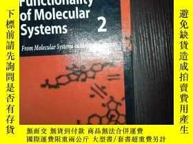二手書博民逛書店外文書罕見Functionality of Molecular
