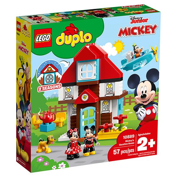 LEGO 樂高 Duplo 得寶系列 10889 Mickey's Vacation House 【鯊玩具Toy Shark】