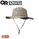 【Outdoor Research 美國 女 抗UV透氣中盤帽《卡其灰》】243442/遮陽帽/圓盤帽/登山健行