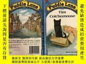二手書博民逛書店puddle罕見lane 水坑巷Y200392