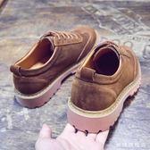 男鞋秋季休閒大頭皮鞋男英倫皮質低幫短靴正韓潮流工裝鞋馬丁靴子