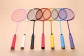 羽毛球拍全碳素單拍支超輕4u5u省隊訓練拍初學女用ymqp