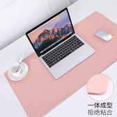 筆記本電腦墊鍵盤墊女生寫字臺墊防水辦公桌墊超大號滑鼠墊可定制家用書桌墊