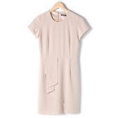 【MASTINA】百搭優雅素洋裝-卡 網路獨家洋裝