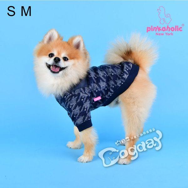 紐約《Pinkaholic》美麗人生T恤 L號 小狗衣服 小型犬衣服 進口狗衣服