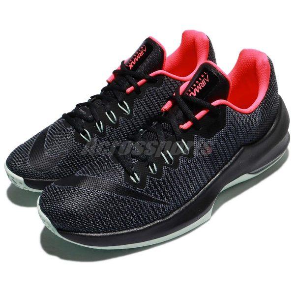 Nike 籃球鞋 Air Max Infuriate 2 Low EP 灰 黑 低筒 運動鞋 氣墊 男鞋【PUMP306】 908977-006