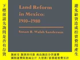 二手書博民逛書店Land罕見Reform In Mexico: 1910-1980 (studies In Social Disc