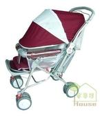 [家事達] Mother's Love  880 雙向加寬 全罩嬰兒手推車-紅色~   特價