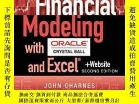 二手書博民逛書店Financial罕見Modeling With Crystal Ball And Excel + Website