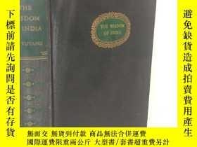 二手書博民逛書店1942年 《印度的智慧》The罕見Wisdom of Indi