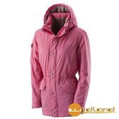 荒野 Wildland 女 PRIMALOFT 防水保暖外套『珍珠粉』A22901