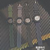 防水電子運動手錶女生學生韓版簡約小清新學院風潮流 歐韓時代