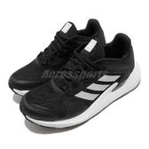 adidas 慢跑鞋 Alphatorsion W 黑 白 女鞋 反光設計 舒適緩震 運動鞋【PUMP306】 EG9596