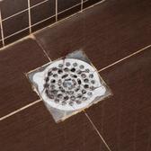 浴室毛發防堵塞過濾網下水道防臭水槽蓋加大號一次性地漏貼紙 伊鞋本鋪