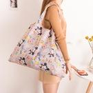 防水袋 折疊購物袋輕薄便攜環保袋女手提袋防水大容量超市買菜包結實【快速出貨八折下殺】