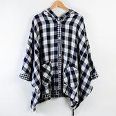 週年慶同步【Dailo】oversize帥氣寬版外套-藍