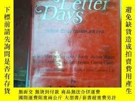 二手書博民逛書店Red罕見Letter Days6886 吳中傑著 出版1979