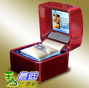 [美國直購 ]   Euricase - Ring Box (Jewelry Keepsake) with LCD for Videos, Audios & Pictures (Red)   $12679