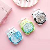 USB風扇 抖音夜光燈流沙充電靜音便攜式小風扇兒童禮品 - 古梵希