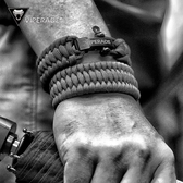 VIPERADE蝰蛇手工編織戶外求生手鍊傘繩編織手環野營傘繩EDC手串