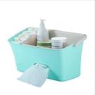 嬰兒床頭掛袋置物架收納盒