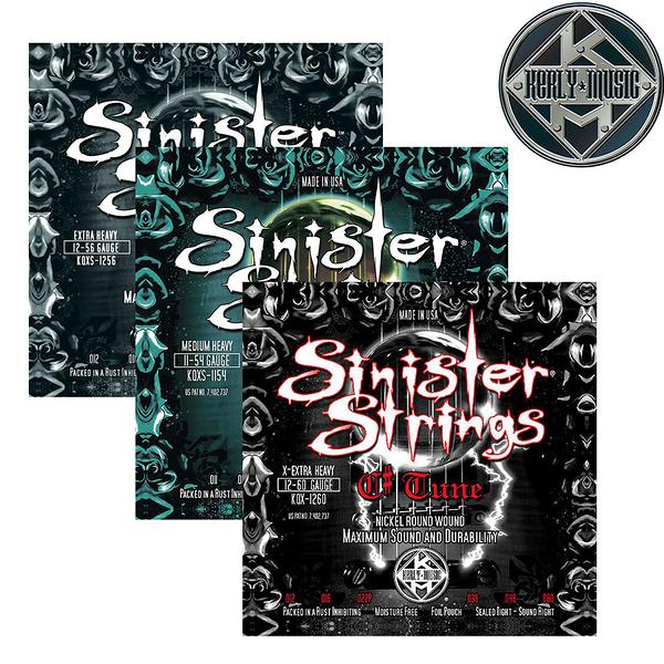 【小叮噹的店】全新 美國 Kerly Music 電吉他弦 Sinister系列 美製金屬回火弦 1154~1260
