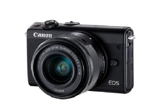 CANON EOS M100 15-45mm STM 黑色 3期零利率【平行輸入】WW
