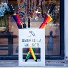 雨傘架簡約現代收納架防銹創意家用箱框落地式辦公雨傘桶 果果輕時尚NMS