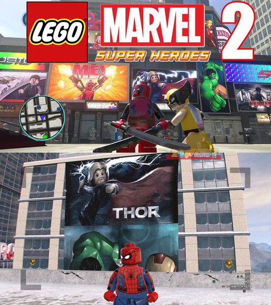 NS 樂高漫威超級英雄2 (含數十人物密碼) -中文亞版- Switch Lego Marvel Heroes 2