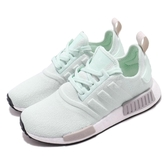 adidas 休閒鞋 NMD_R1 W 綠 灰 女鞋 Boost中底設計 運動鞋 【PUMP306】 EE5181