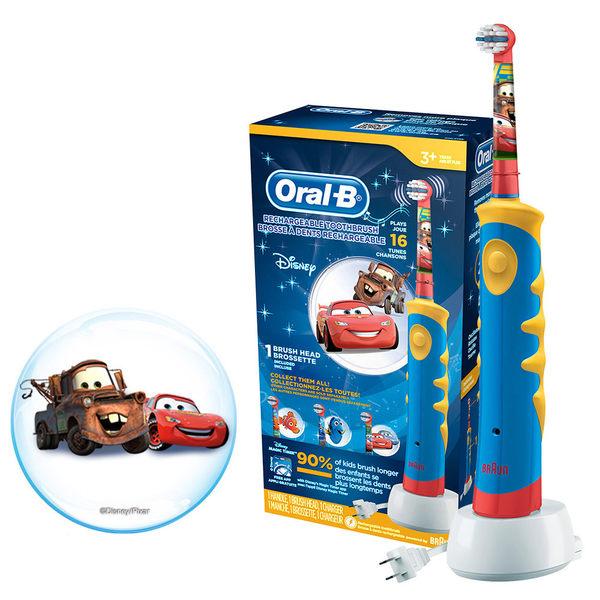 歐樂B Oral-B 汽車總動員充電式兒童電動牙刷D10