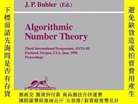 二手書博民逛書店《算法數論》《Algorithmic罕見Number Theor