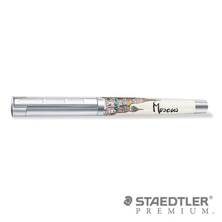 【預購】施德樓 PREMIUM Corium Urbes 城市系列鋼筆 - 莫斯科 9PU100 F尖 / 支