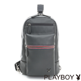 PLAYBOY- 單肩背包 Gray系列-灰色