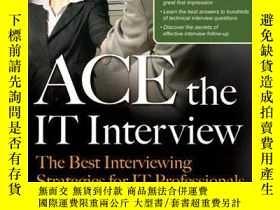 二手書博民逛書店Ace罕見The It InterviewY255562 Moreira, Paula Mcgraw-hill