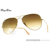 RayBan 太陽眼鏡 RB3025 11285 -58mm (霧金-棕) 經典限量款 墨鏡 # 金橘眼鏡