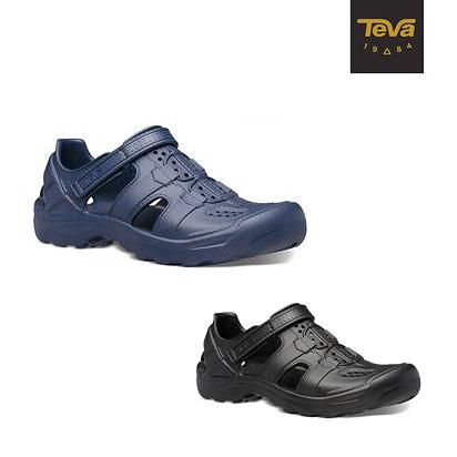 丹大戶外用品【TEVA】男 Omnium Drift 水陸輕量護趾涼鞋 TV1107829 黑/日蝕藍