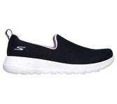 Skechers Go Walk Joy [15637NVLV] 女鞋 健走 運動 休閒 緩衝 避震 彈力舒適 黑紫