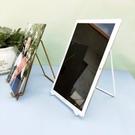 創意相框 桌面相框支架托獎牌證書展示架創意落地立式玻璃相片平板托架【快速出貨八折鉅惠】