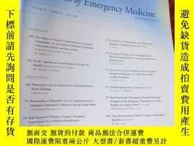 二手書博民逛書店Annals罕見of Emergency Medicine Vo